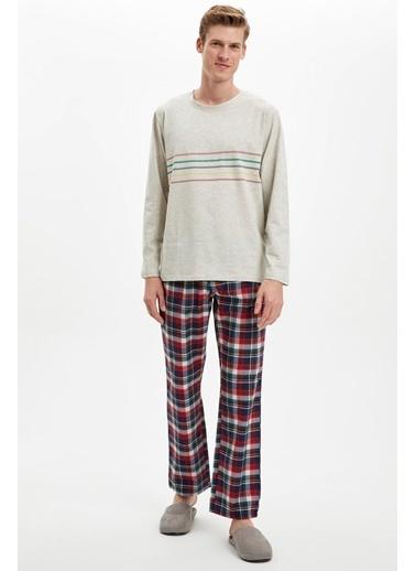 Doremi Strong Lines Erkek Pijama Takımı Gri